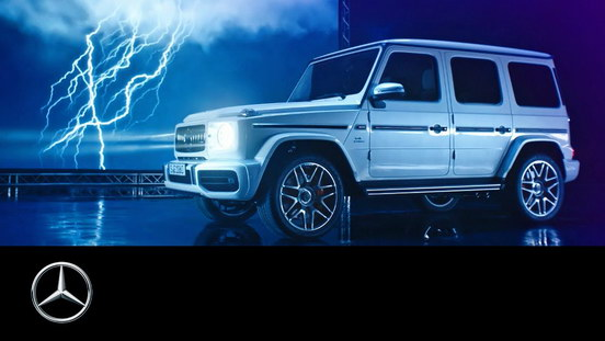 Mercedes-AMG G 63 2018 Flash of Lightning